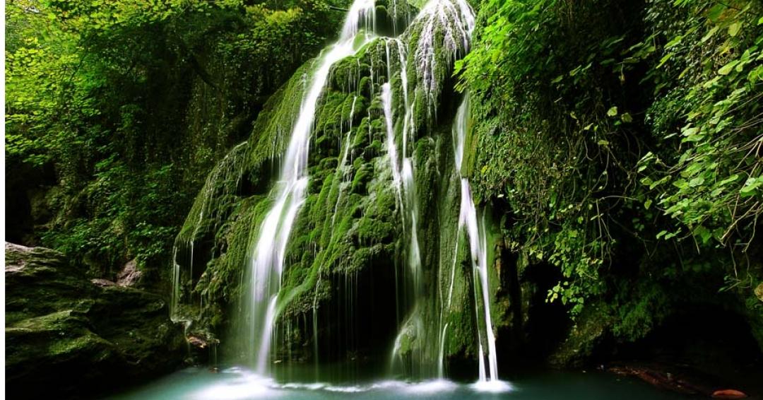 آبشار کبودوال استان گلستان