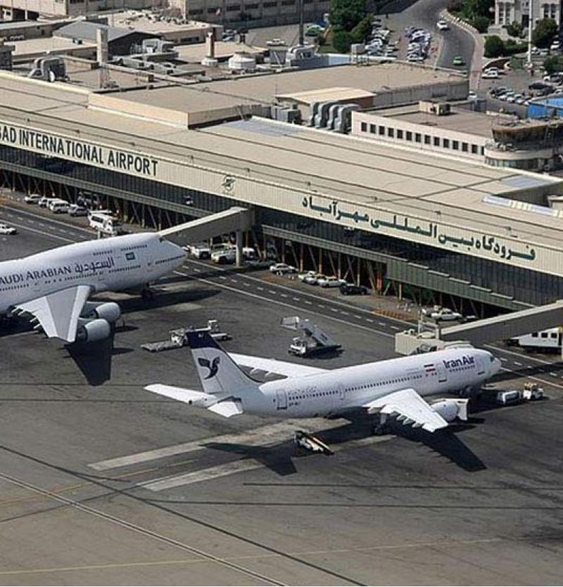 ایرلاینها در فرودگاه مهرآباد چه ترمینال هایی هستند